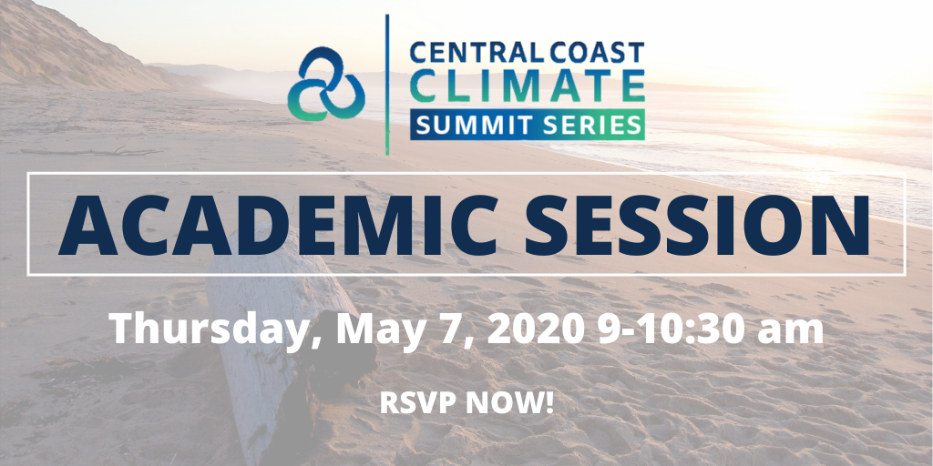 Central Coast Climate Summit Series | May 7, 2020